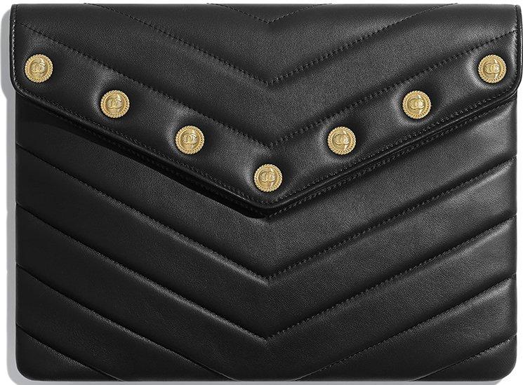 Chanel-Chevron-Button-CC-O-Case