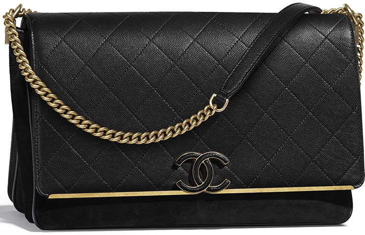 84642d7479d5 Chanel Grained Calfskin Enamel CC Flap Bag Style code  A57561 Size  6.3′ x  3.5′ x 10.2′ inches. Price   4800 USD