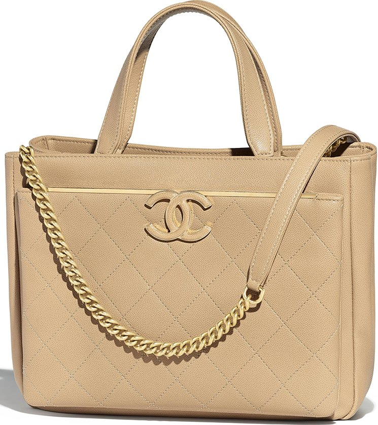 b30315acd4f3 Chanel Grained Deerskin Large Shopping Bag Style code  A57890 Size  9.8′ x  6.7′ x 12.6′ inches. Price   4400 USD