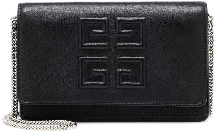 Givenchy-Logo-Embossed-Chain-Wallet