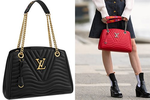 dd0e22397d7b Louis Vuitton New Wave Chain Tote Bag – Bragmybag