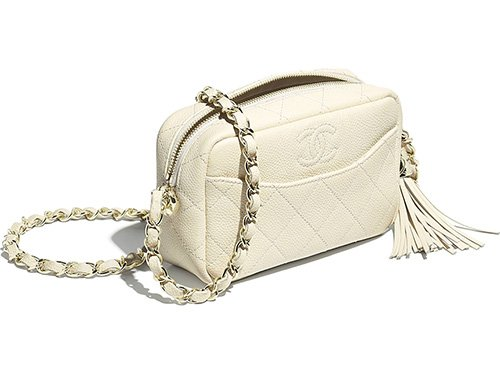 Chanel Flat Quilted Camera Case