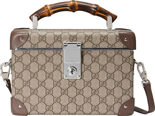 3dccf16fb1a9 Are beauty cases the new trend  Meet the Gucci Globe-Trotter GG Beauty Case  from the Fall Winter 2018 Collection. And it s more than just a beauty case  ...