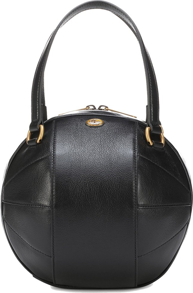 a40fa703e667 The latest Gucci Tifosa Bag is supposed to be a contemporary bag created  with spherical shape.