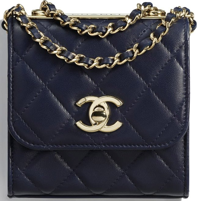 e38380941981 Carry the Chanel Small CC Trendy Clutch With Chain just like the Mini  Classic Square Bag – with ...