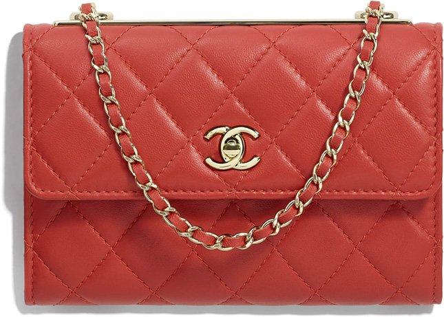 cf3393a38f4b24 Chanel Trendy CC Clutch With Chain | Bragmybag