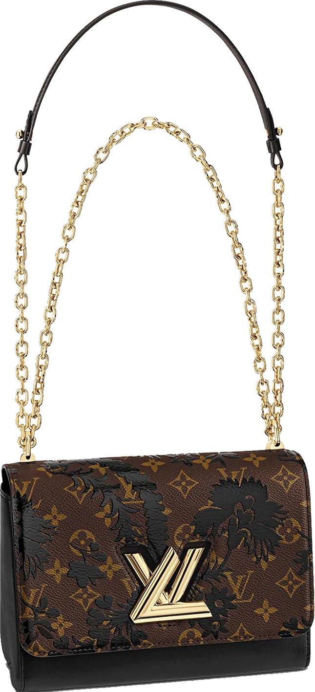 10e9f07773de Louis Vuitton Twist Monogram Blossom Bag