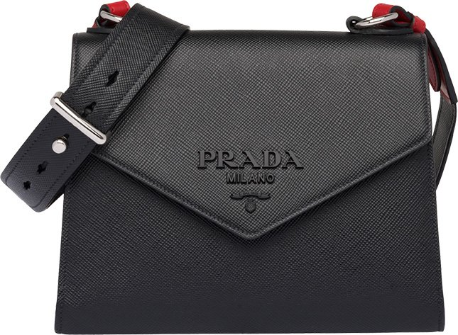 e76fe50696ab The first hit is the Prada So Black Monochrome Saffiano Bag. The Monochrome  Bag was first introduced in August 2018, but the Monochrome Flap ...