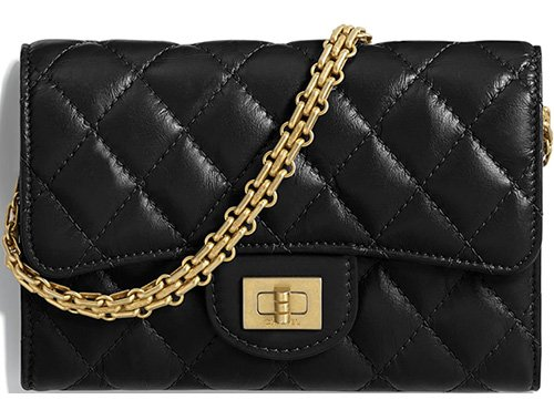 Chanel Reissue 2.55 Clutch With Chain