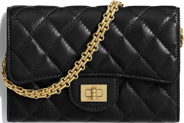 c88ddf9366baf3 The Chanel Reissue 2.55 Clutch With Chain is not a handbag but the style is  new. The Clutch With Chain Bag was first introduced in May 2018, ...