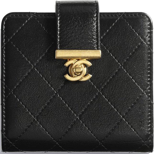 1e20bcc74f1c Chanel Small Square Golden Class CC 2.0 Wallet | Bragmybag