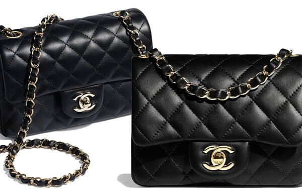 aa83bbe7a413 In this report we re going to analyze the price increase of the Chanel New Mini  Classic Flap Bag and the Square ...