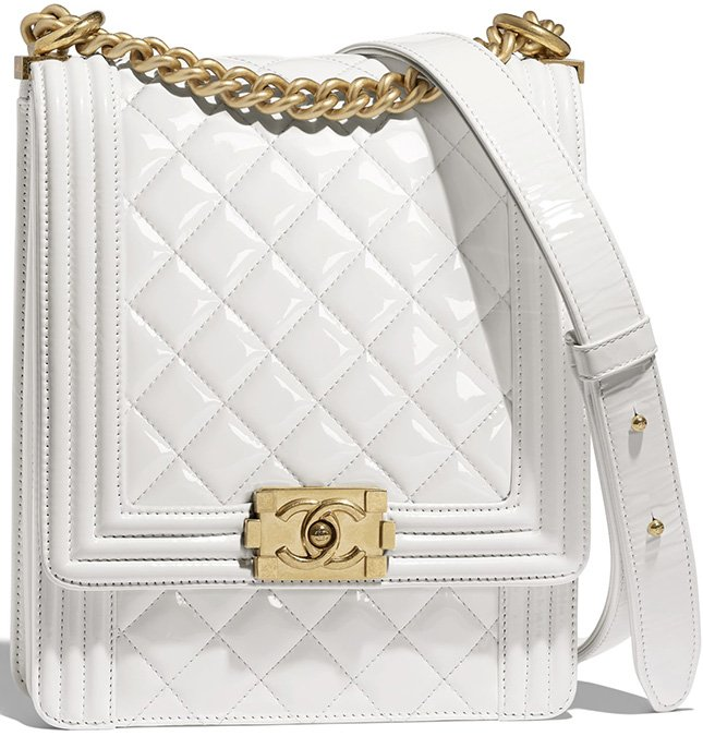 Chanel Boy North South Bag