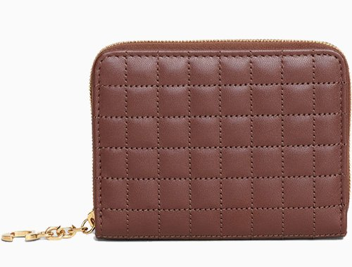 Chanel C Charm Compact Zipped Wallets thumb