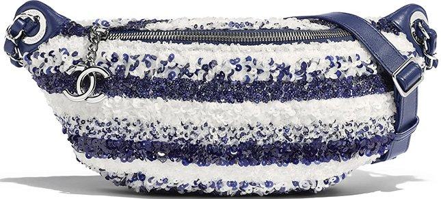 Chanel Sequins Waist Bag