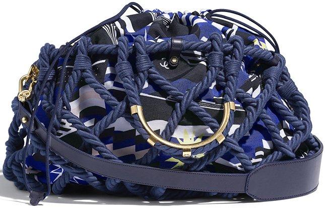 Chanel Cotton Large Shopping Bag