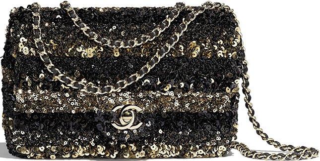 Chanel Sequins Mini Flap Bag