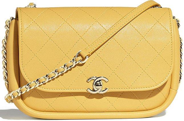Chanel Lambskin Flap Bag