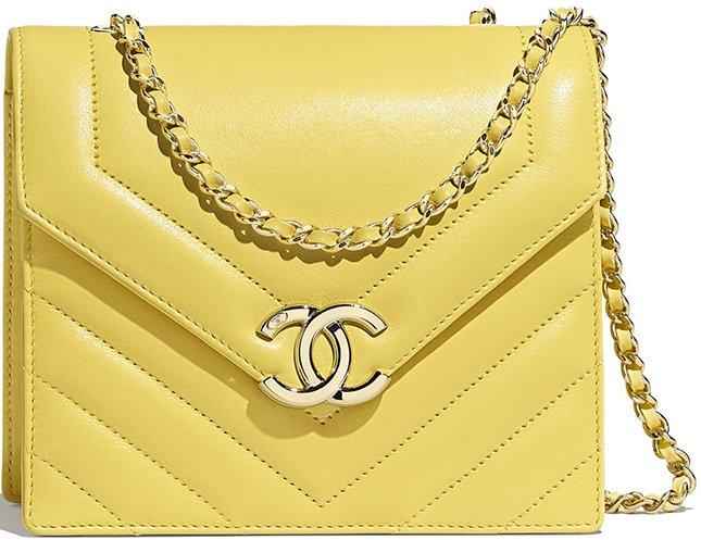 Chanel Small Chevron Flap Bag