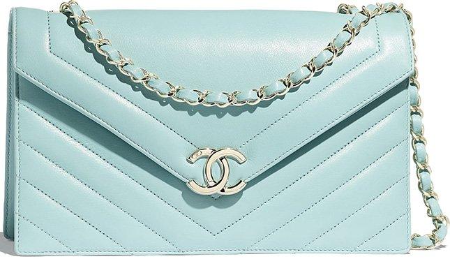 Chanel Large Chevron Flap Bag