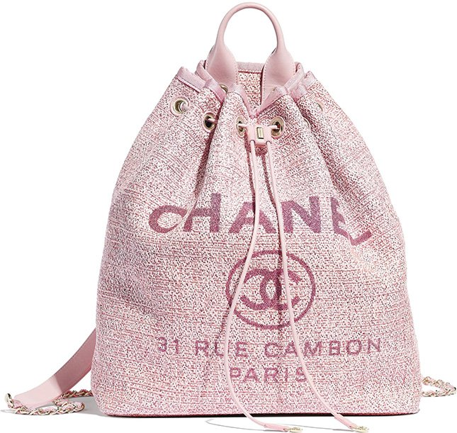 Chanel Deauville Backpack