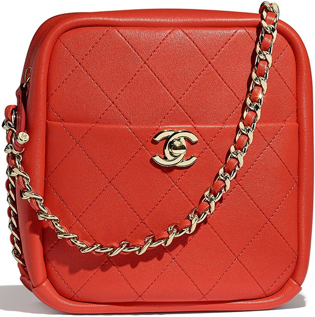 Chanel Casual Trip North South Camera Case