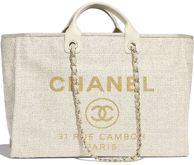 Chanel Deauville Large Shopping Bag