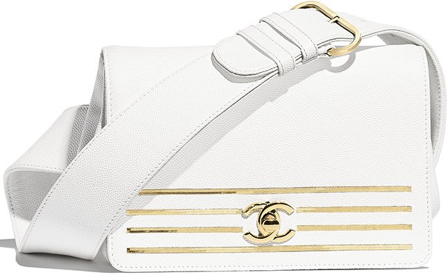 Chanel Captain Gold Waist Bag