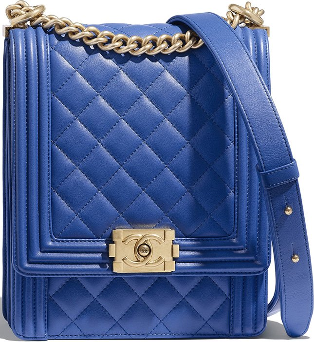 Chanel Boy North South Bag Style code  AS0130 Size  7.7  x 6.3′ x 2.4′  inches. Price   4200 USD ffbbc7e89fb5e