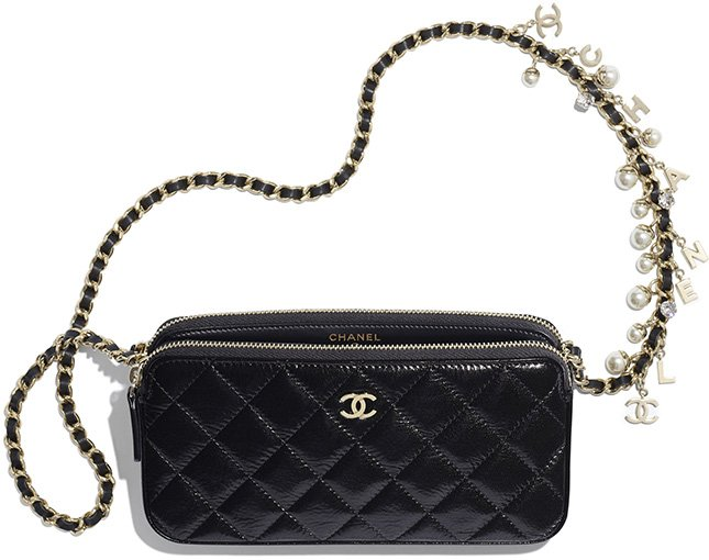 Chanel Pearl With Charm Clutch With Chain