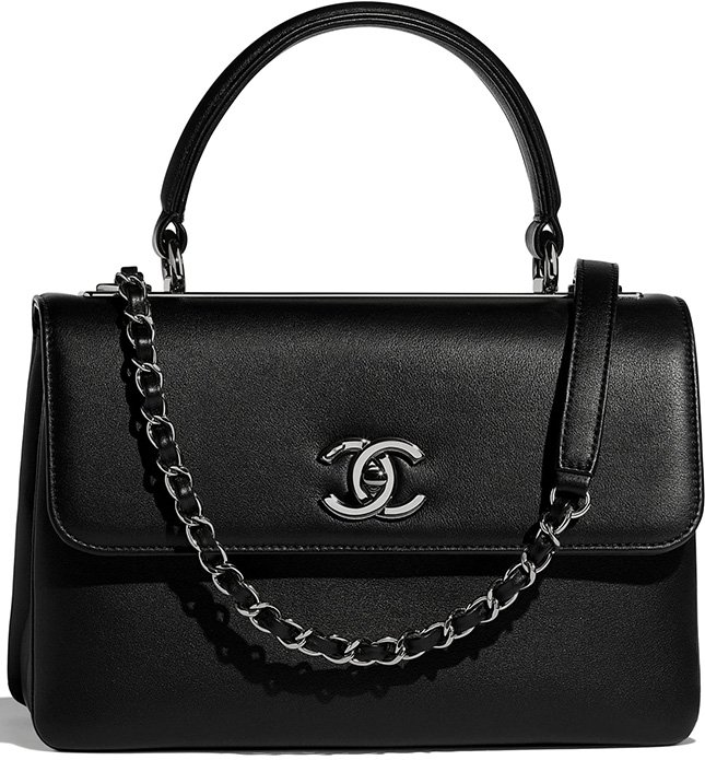 Chanel Trendy CC Bag in Smooth Leather