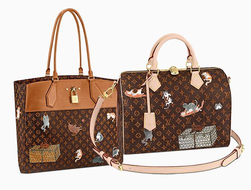 Louis Vuitton x Grace Coddington Bag Collection thumb