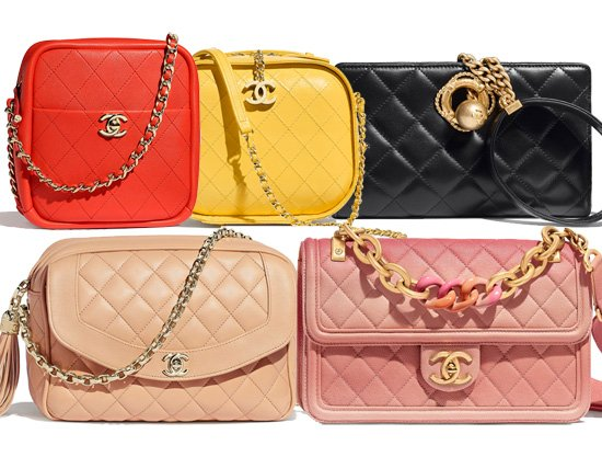 Chanel Cruise 2019 Seasonal Bag Collection