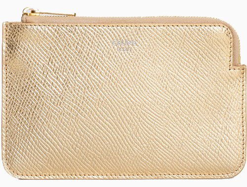 Celine Coin Card Pouch With Hook thumb