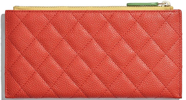 Chanel CC Filigree Pouch