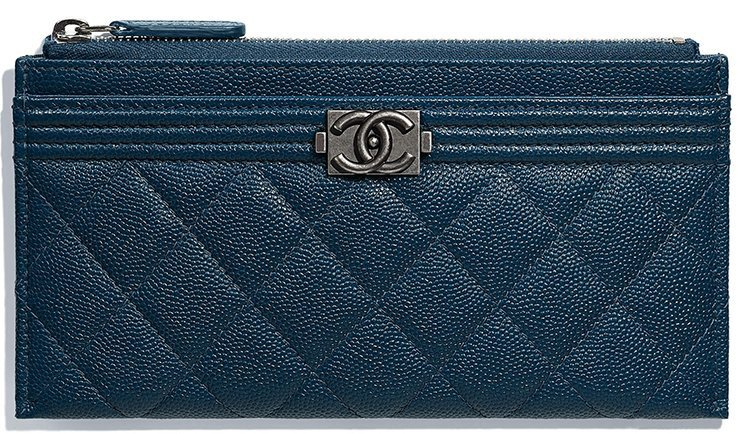 Chanel CC Filigree Pouch