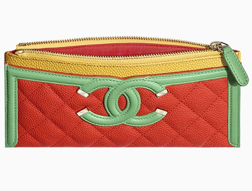 Chanel CC Filigree Pouch thumb