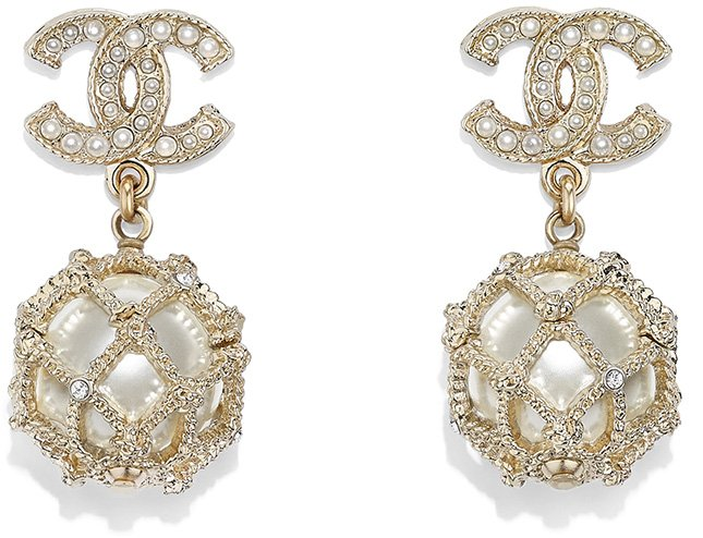 Chanel Cruise CC Earring Collection