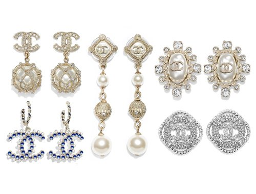 Chanel Cruise CC Earring Collection thumb