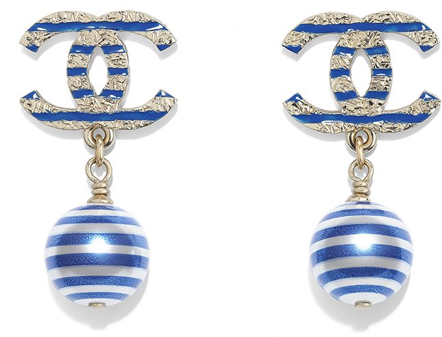 Chanel Cruise Seasonal Earring Collection