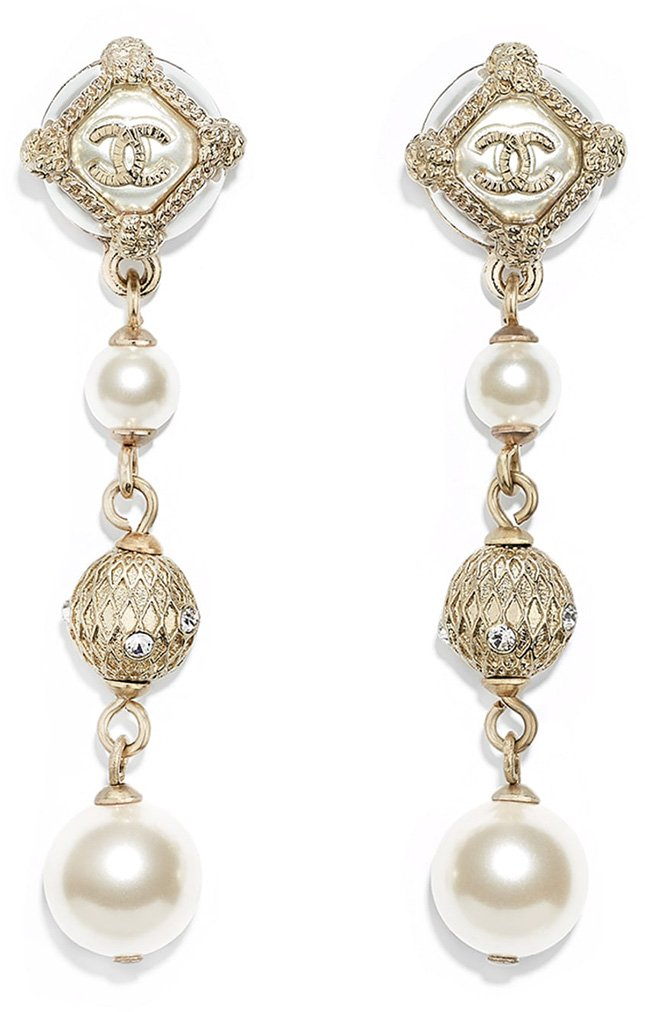 Chanel Cruise Signature CC Earring Collection