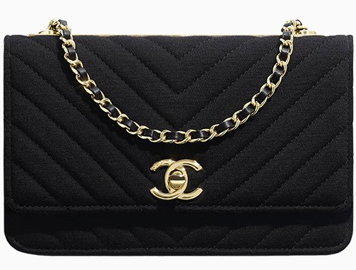 Chanel Trendy CC Jersey WOC thumb