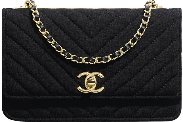 Chanel Trendy CC Jersey WOC