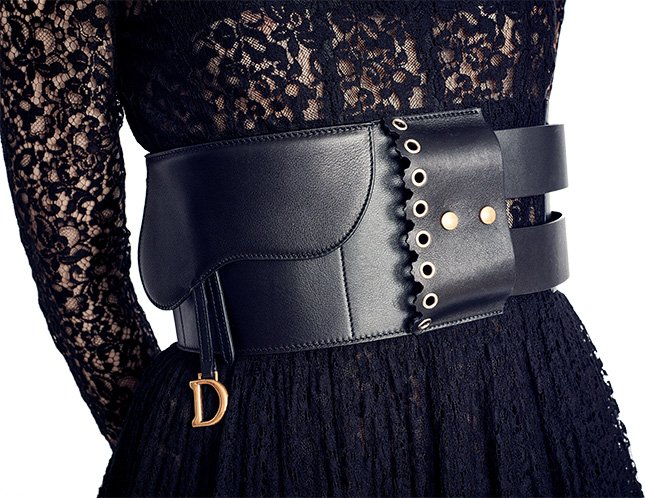 Dior Saddle Belt Bag