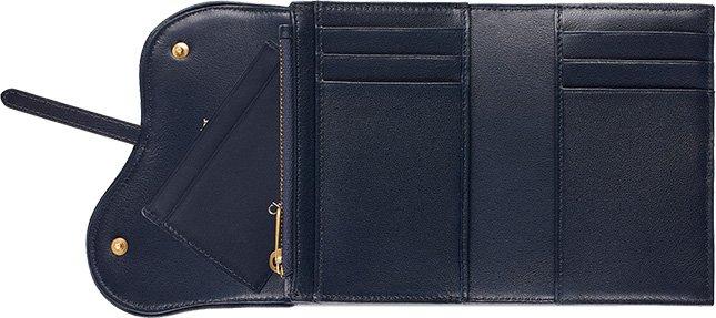 Dior Saddle Wallet