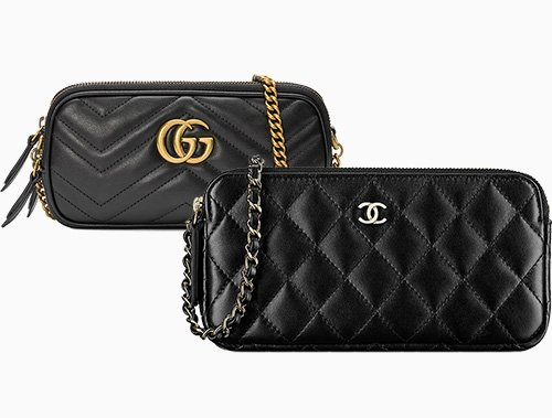 Gucci GG Marmont Mini Bag vs Chanel Chain Clutch thumb