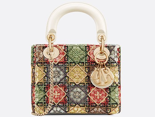 Lady Dior Geometric Cannage Bag thumb