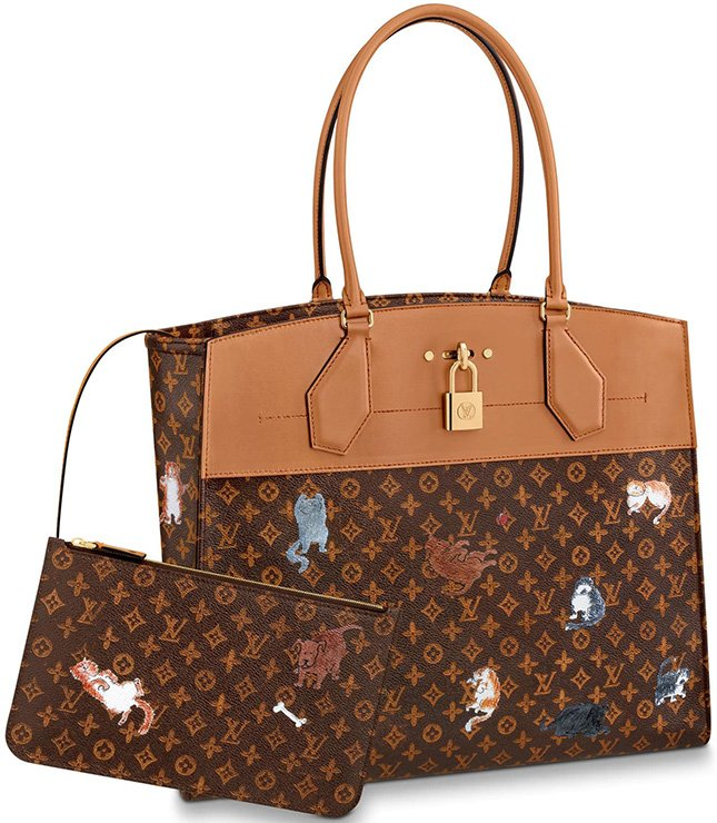 Louis Vuitton City Steamer Cabas XXL Bag