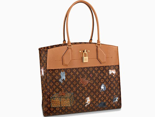 Louis Vuitton City Steamer Cabas XXL Bag thumb