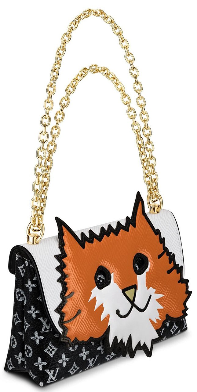 Louis Vuitton Orange Cat Bag